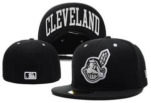 Guter Verkauf Online-Shopping Cleveland Indianses ausgestattet Hüte Snapback Cap Männer Frauen Basketball Hip Pop