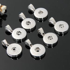 Noosa 12mm 18mm bottoni a pressione ciondoli in lega intercambiabili mini ginger snap ciondolo misura bracciali collane gioielli di moda all'ingrosso a buon mercato