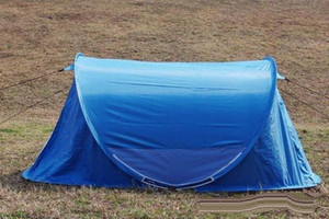 3 Man POP UP Tent Outdoor Camping Dome Tent Family Festival Tent two windows 235*145*100 190T