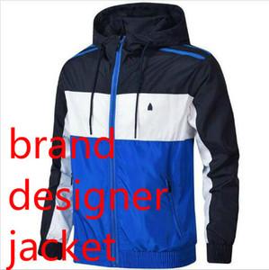 adidas Mens Designer Jackets mit 3 Streifen Luxuxmann Windjacke Mantel mit Marken Schlagwörter Winter Fashion Marken-Jacke Outdoorkleidung