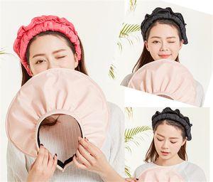 Sıcak! Korece güneşlik kadın yaz güneş şapkası kabuk anti-UV seyahat açık güneşten gelen büyük ağzına kadar plaj şapkası k20 güneşlik