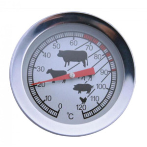 Dial Termômetro Probe-Type Café Leite Bebidas BBQ Meat