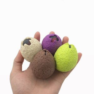 Creative Cartoon Dinosaur Egg Squeeze Stress Relief Toys Pinch Ball TPR Funny Cute toys for children Birthday grifts