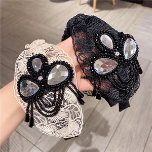 Fashion Lace Hair Bands for Women High Quality Women' s Fringed Head Bands Classic Craft Bonzer Headrdess