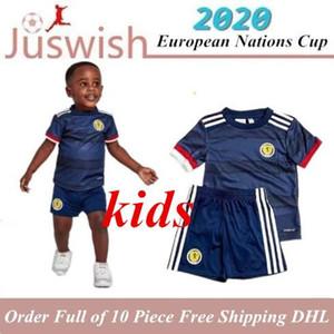 KIDS 2020 SCOTLAND FUSSBALL JERSEYS KIDS SäTZE 20 21 HOME BOBERTSON Fraser Armstrong BURKE CcGREGOR FORREST KIND JERSEY Junge Fußball-Hemden