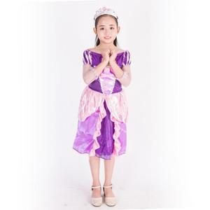 Le Pei principessa principessa sirena Dress Festival Costume Party Fantasy Film Carnival Party di Halloween Purim