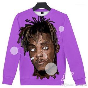 سترات طويلة الكم مطبوعة 3D ملابس داخلية نمط شارع Hipp Hoodies مصمم Mens Hoodies مغني راب عصارة Wrld