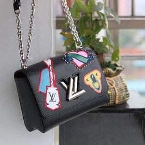 2020 Новая мода роскошный дизайн сумка из кожи и холста сумка классическая мода печати роскошные женские сумки на ремне нет:50326 a123