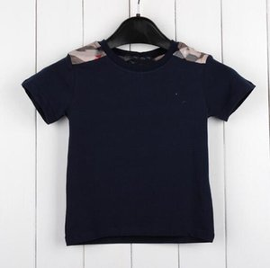 hot new Boys T-shirt Brand logo kids casual tops fashion baby boy girl Tops children short sleeve shirt cotton Tees