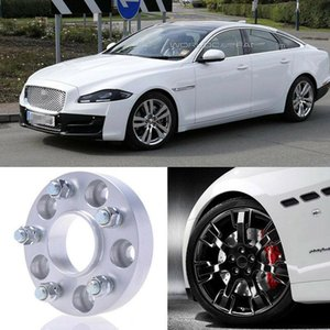 2pcs 25mm Thick PCD 5x108 63.4CB Aluminum Wheel Spacers Adapters For Jaguar XJ