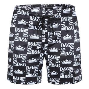 2020 New listing fashion Men's Little horse Beach pants stripe Design Summer Shorts For man Swim Wear Board Quick drying Shorts