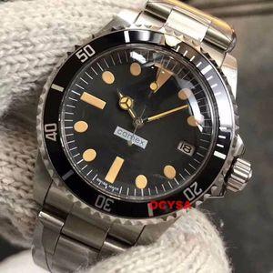 Relógios de Mens de Luxo do vintage Paul Newman Mecânico Automático Relógio de Aço Inoxidável Orologio Designer de Relógios de Pulso Montre