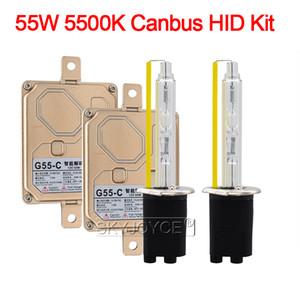 55W H1 H3 H7 Xenon H11 9005 9006 9012 D2H Canbus Kit HID Light Car EMC Nessun errore Canbus HID Ballast 55W 5500K faro auto della lampadina