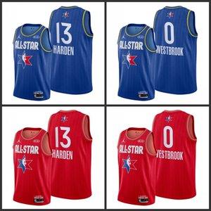 HoustonRocketsRussell Westbrook JamesHarden 2020NBA All-Star Game Reserves Jersey