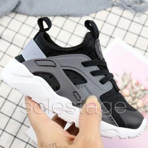 Huarache crianças tênis de corrida designer de alta qualidade meninos meninas crianças rosa preto azul branco tênis executar ultra 5 sapatos formadores 22-35