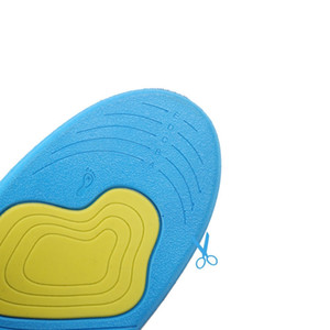 Thickening Shock Absorber Sports Insoles For Men And Women Breathable Sweat Support Casual Comfortable Basketball Running Inso Beach shoes