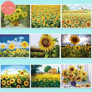 diamond painting diamond embroidery sale picture by numbers sunflower mosaic embroidery christmas decorations for home