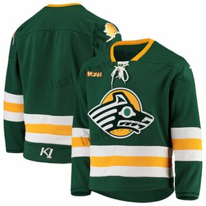 Alaska Anchorage Seawolves Stitched College Hockey Jerseys Mens Sewn All Embroidery Customized Any Name Number Sports AHL hockey Sweaters