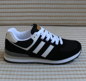 2019 Tamanho 36-44 Moda Luxuosas Sneakers Mocassins Designers Homens Mulheres Baixo Corte Casual Correr Sapatos Unisex 574 Outdoor Walking Shoes