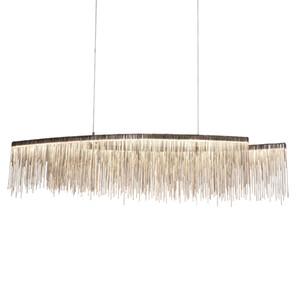 Postmodern minimalistische Atmosphäre Quasten Persönlichkeit beleuchtet Nordic Wohnzimmer Schlafzimmer Restaurants Villen kreative Kronleuchter Gold Lampen