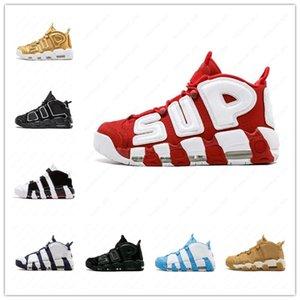 Nakeskinالأردنريترو 96 QS الأولمبية اسكواش المارون المزيد من أحذية كرة السلة 3M سكوتي بيبن Uptempo شيكاغو المدربين أحذية رياضية