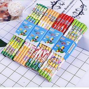 100 adet kawaii ahşap kalem çok sevimli okul ofis öğrencileri için yaratıcı kalemler yazma sabit malzemeleri HB standart kalem