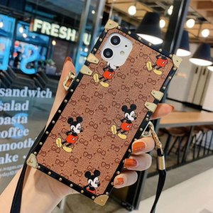 rato micky bonito para iphone 11 11promax xr xsmax 7 / 8plus x xs 7/8 Tampa s20 s20plus s20u CaseFor Galaxy S8 s9 s10 mais note8 note9 s10lite