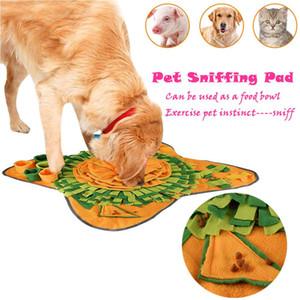 Pet Dog Sniffing Mat Encontrar Formação Cobertor Tocar Brinquedos Dog Mat Para aliviar o stress enigma Sniffing Pad