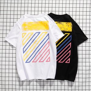 Mens Designer estate delle parti superiori delle magliette casual per Camicia a maniche corte Uomo Abbigliamento Donna Lettera Marca Modello Stampato Tees girocollo TX8