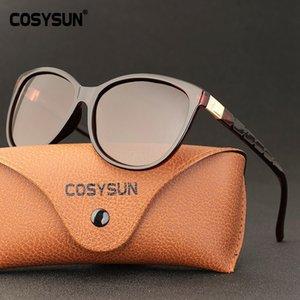 COSYSUN 2020 Sonnenbrillen für Männer Frauen Platz Vintage-Sonnenbrillen Männlich Promi Gläser UV400 CS0579