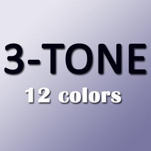 BUENA CALIDAD en el mercado de China / Cajas frescas con pegatinas / 12 colores / Cajas de lentes de contacto clásicas / puede proporcionar imágenes claras / Envío gratuito de DHL