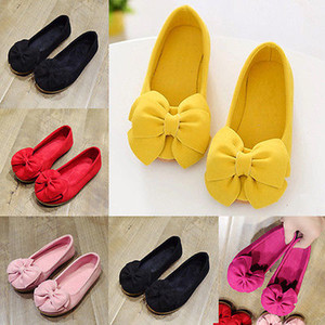Emmababy Baby-Slip on Mokassins Princess Schuhe Mode Kind-Kind-Mädchen-Kleinkind-Beleg auf weiches Veloursleder Rubber beiläufige PU-Boots-Schuhe