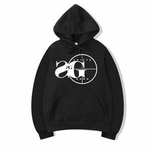 Vsenfo Gang Kapşonlu Sweatshirt Kodak Siyah RAP Hip Hop Unisex Hoodie Versiyon Sokak Kazak Kapüşonlular Erkekler Kadınlar Soğuk