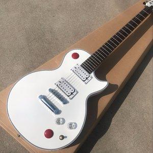 Новый Custom Shop Kill Switch Бакетхэд стиль игры на гитаре 24 ладов электрическая гитара, Alpine White Guitarra, пользовательские gitaar
