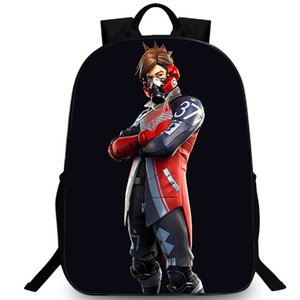 Ether backpack Gas mask boy daypack Fort game photo schoolbag Print rucksack Sport school bag Outdoor day pack
