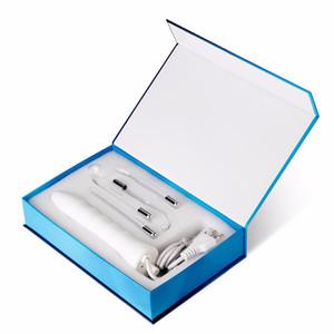 4 In 1 Tragbare Hochfrequenz Elektrodenstab Elektrotherapie Glasrohr Schönheit Gerät Fleckenentferner Gesichtspflege Spa.