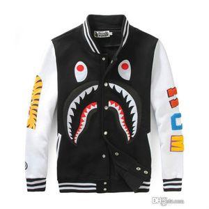 Outono Adolescente Hip Hop Esportes sweatwear solto Jacket Student Long Sleeve Baseball Jacket Homens Mulheres Zipper Cardigan Jacket Tamanhos 4XL