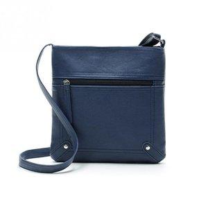 Diseñador-- 2016 Nueva moda para mujer Bolso de cuero de PU Nuevos diseñadores Señora Satchel Crossbody Hombro Messenger Bag Bolso Bolsas Femininas