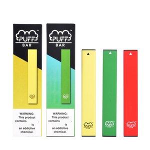 18 colori più venduto Puff bar oltre a gettare Vape dispositivo 280mAh Batteria 1.3ml cartuccia del soffio più del kit di flusso