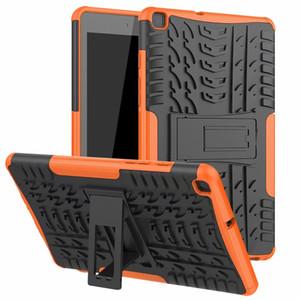 Para Samsung Galaxy T295 Funda de plástico duro TPU Combo Armor Funda protectora para Samsung Galaxy Tab A 8.0 2019 T295 T290