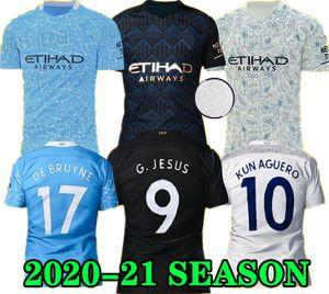 G. ИИСУС Mahrez 20 21 футбол Джерси город 2020 2021 детей Kit DE Bruyne КУН Агуэро футбол рубашка Менди MAN форма манчестер Майо мужчин