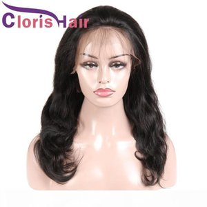 A Lace Front Wigs Body Wave Brazilian Virgin Human Hair Wigs Pre Plucked Hairline With Baby Hair Full Ends Glueless Wigs For Black Wome