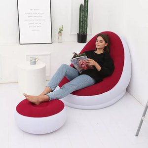 Smart Lazy Living Room Outdoor Bedroom Inflatable Sofa Deck Chair