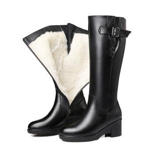 flamencos la mejor calidad últimas botas de las mujeres del diseñador Martin Desert Boot flecha medalla de gruesos zapatos de cuero de calidad superior de Invierno