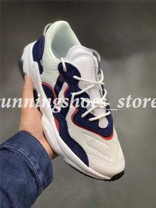 2019 Новый Ozweego 3M Светоотражающие мужские кроссовки для мужчин, женщин, кроссовок Calabasas Тренажеры Спортивный дизайнер кроссовки Chaussures корзины Szie 11