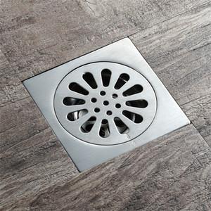 고품질 304 스테인레스 스틸 바닥 드레인 커버 광장 욕실 주방 소쿠리 바닥 하수구 욕실 액세서리