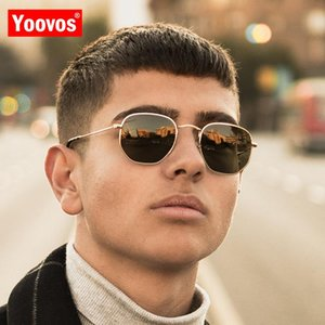 Yoovos 2019 Vintage Polarized Sunglasses Women Men Classic Eyeglasses Street Beat Shopping Mirror Oculos De Sol Gafas Uv400 dzJPL