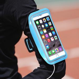 2 Размер Новые Водонепроницаемый Открытый Спорт Бег Фитнес Armband чехол Workout Armband держатель Чехол универсальный Cellphone Arm сумка Бесплатная доставка