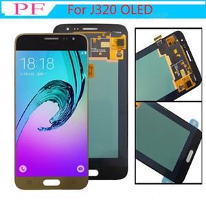 Super AMOLED LCD Pour Samsung Galaxy J3 2016 J320H J320H J320M J320FN Écran LCD Écran Tactile Digitizer Assemblée Remplacement