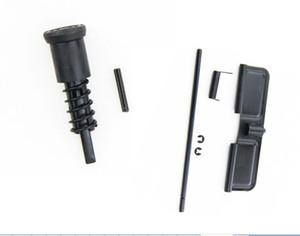 Táctico .223 Botón de perno Conjunto de cubierta de polvo Acero ar15 Para la captura de la revista Airsoft M4 / M16 Táctico .223 Asistencia delantera